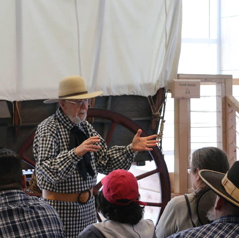Lecture at the California Interpretive Center