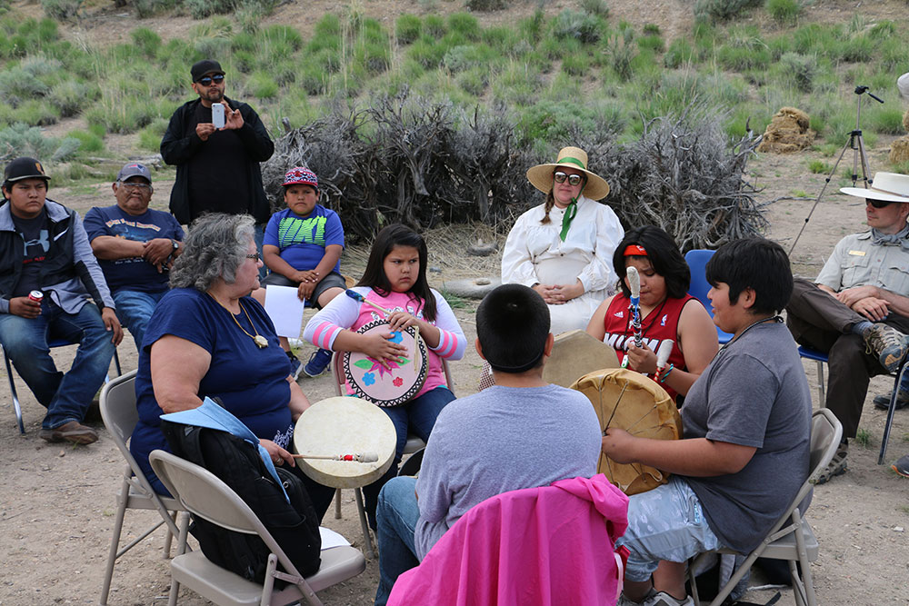 Music Activity at the California Interpretive Center